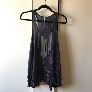 Free People Ruffled Tunic